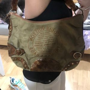 Handbags - Real leather bag .... some ink stains